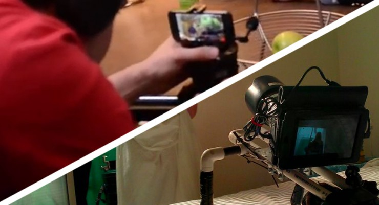 iphone filming rig shoot a on your iphone canon dslrs with an 2373