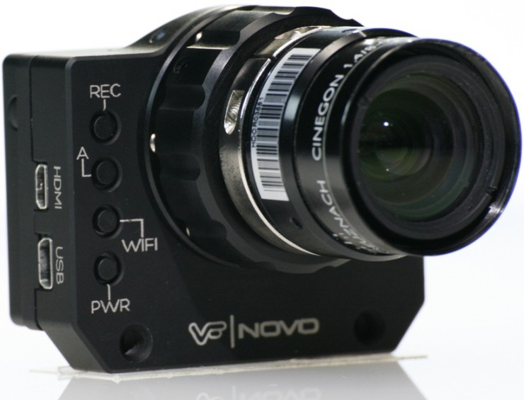 GoPro HERO3 with Interchangeable C-Mount Lenses? The Novo Camera Mod