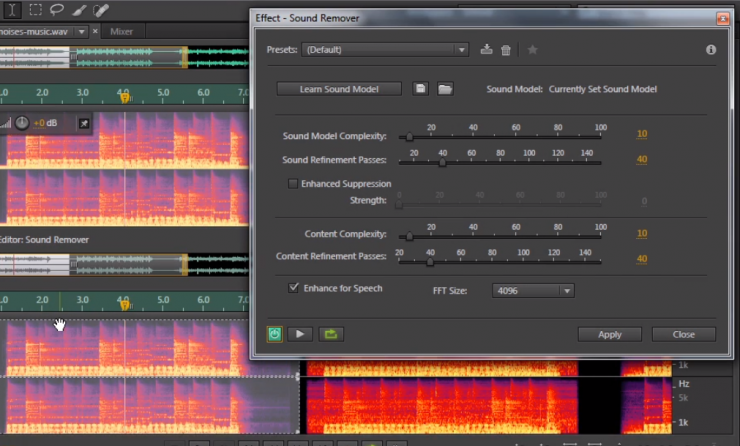 Using Adobe Audition CC's New 'Sound Remover' Effect to Fix Your