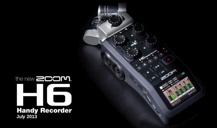 Zoom's Heavier-Duty H6 Audio Recorder Coming in July Priced