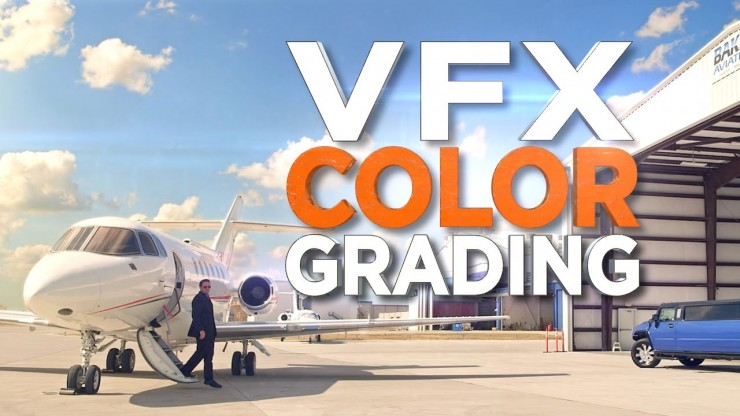 Quick VFX Tutorial on Color Grading: Using Masks to Adjust