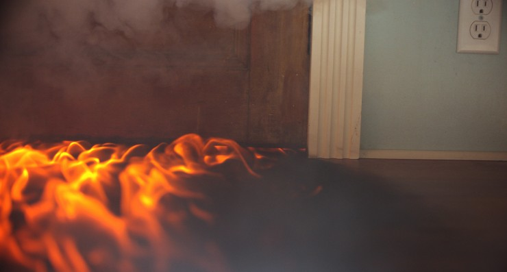 Door Made Out Of Fire : How to get the under door fire effect from backdraft