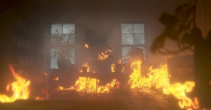 How To Set A Living Room On Fire With Vfx In 4k