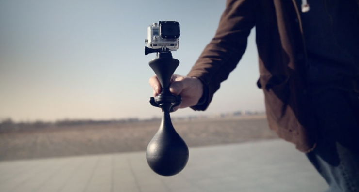 The Luuv Turns Gopro Stabilization On Its Head Allowing