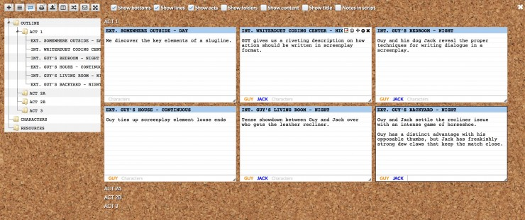 free collaborative screenwriting app writerduet adds intuitive