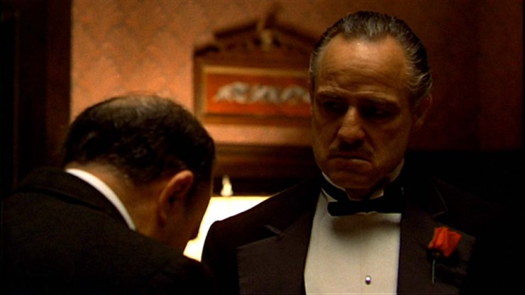 The rise in power of michael in the godfather a movie by francis ford coppola