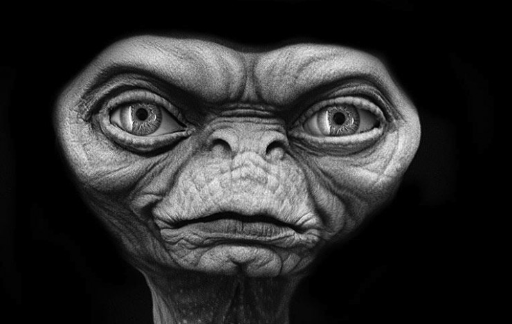 Check out Rick Baker\'s Alien for Steven Spielberg\'s Scrapped ...