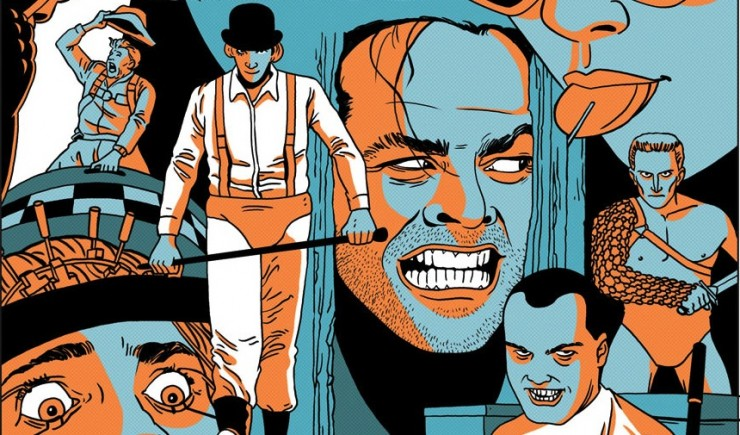 Let Stanley Kubrick Tell You Why Life is Worth Living A Clockwork Orange Wallpaper