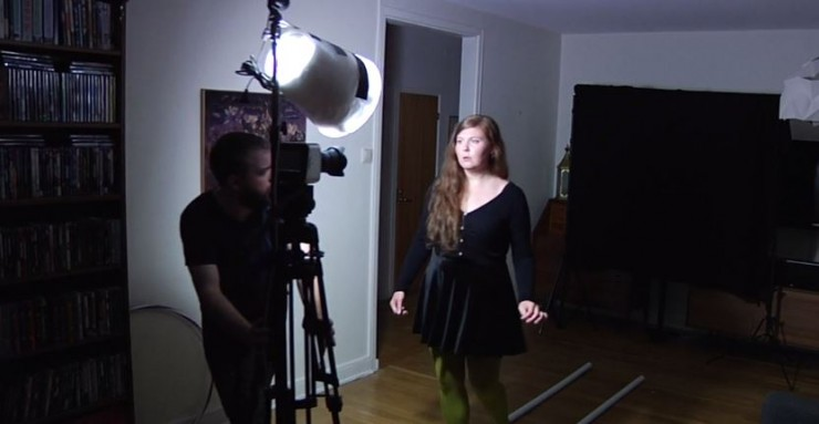 This Is How You Light a Short Film Using Only an IKEA Trash Can