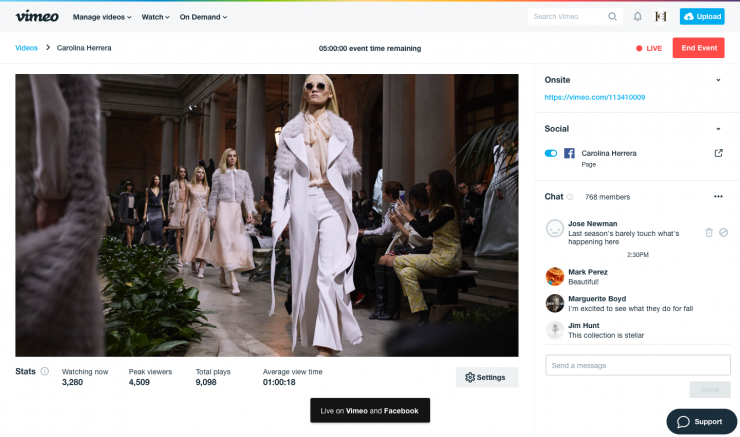 Vimeo's Simulcast for Live Streaming