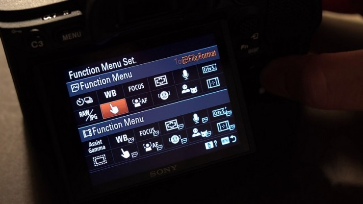 Video Functions now get their own dedicated menu