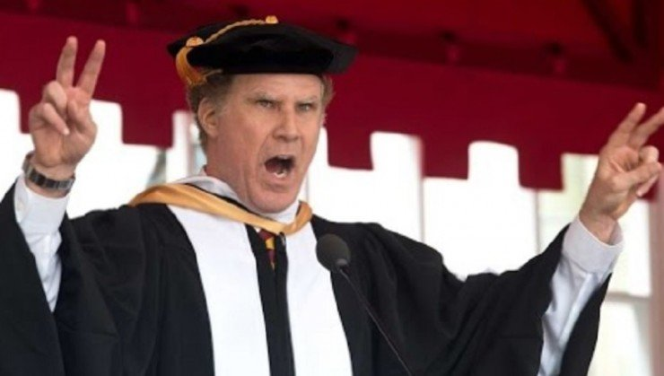 Will Ferrell USC Commencement No Film SChool