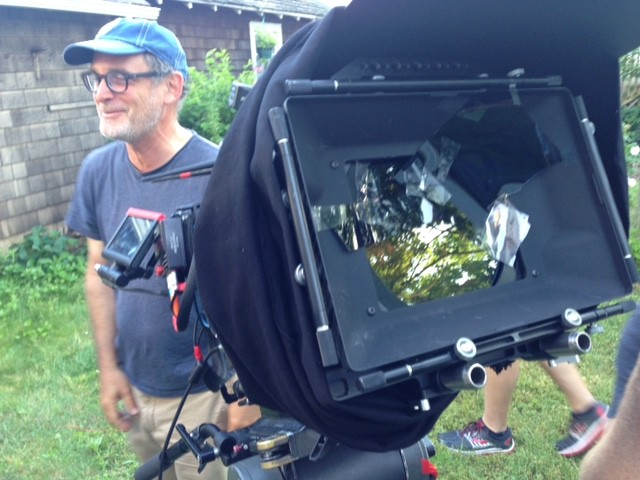 DP William Rexer and some filter experimentation in action.
