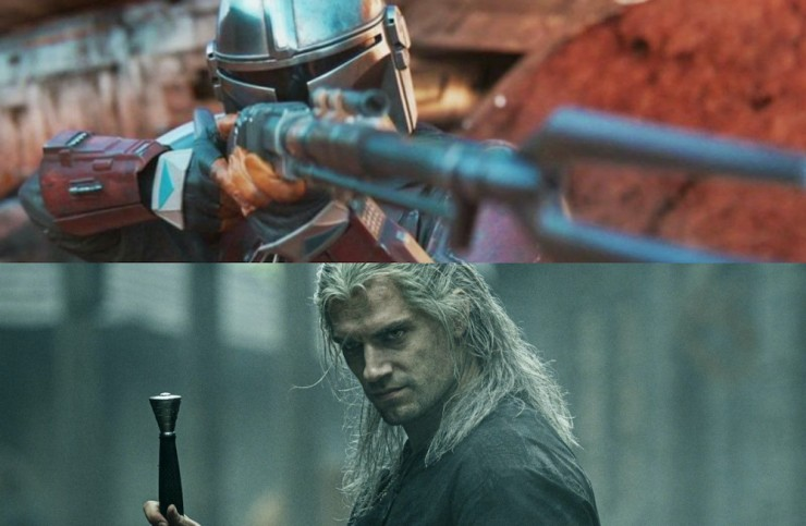 The Witcher/Mandalorian