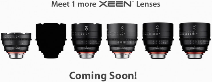Xeen 1 More Lens Coming Soon