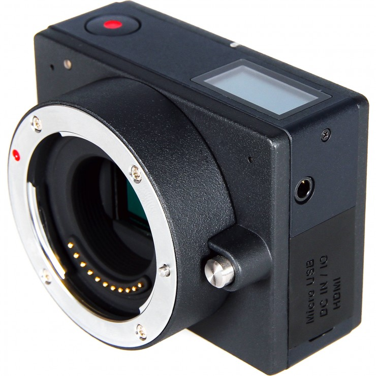 Z Camera E1 Top and Side
