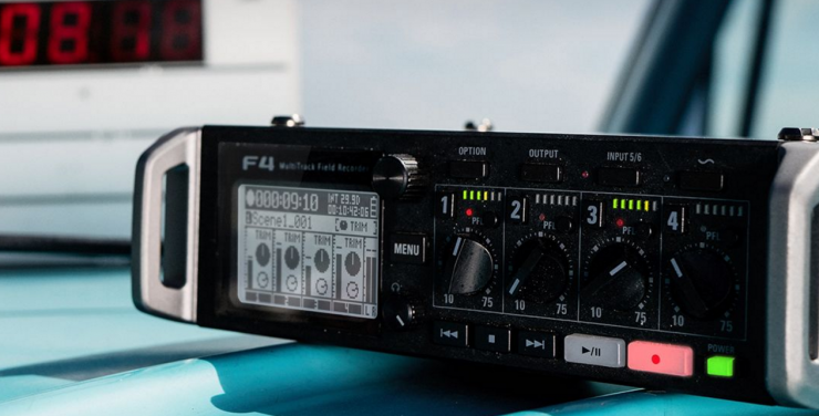 Zoom Brings Hollywood Sound to Indie Filmmakers with the F4