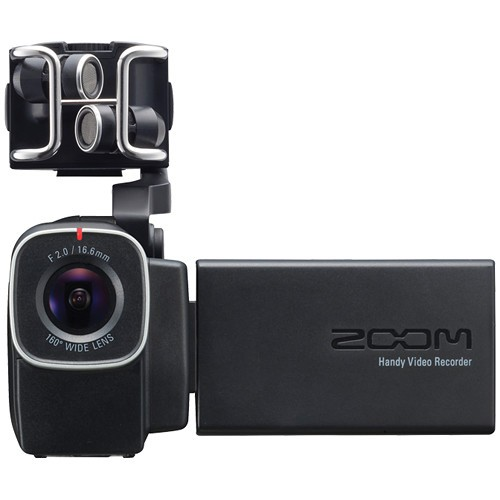 Zoom Q8 Audio Recorder and HD Video Camera
