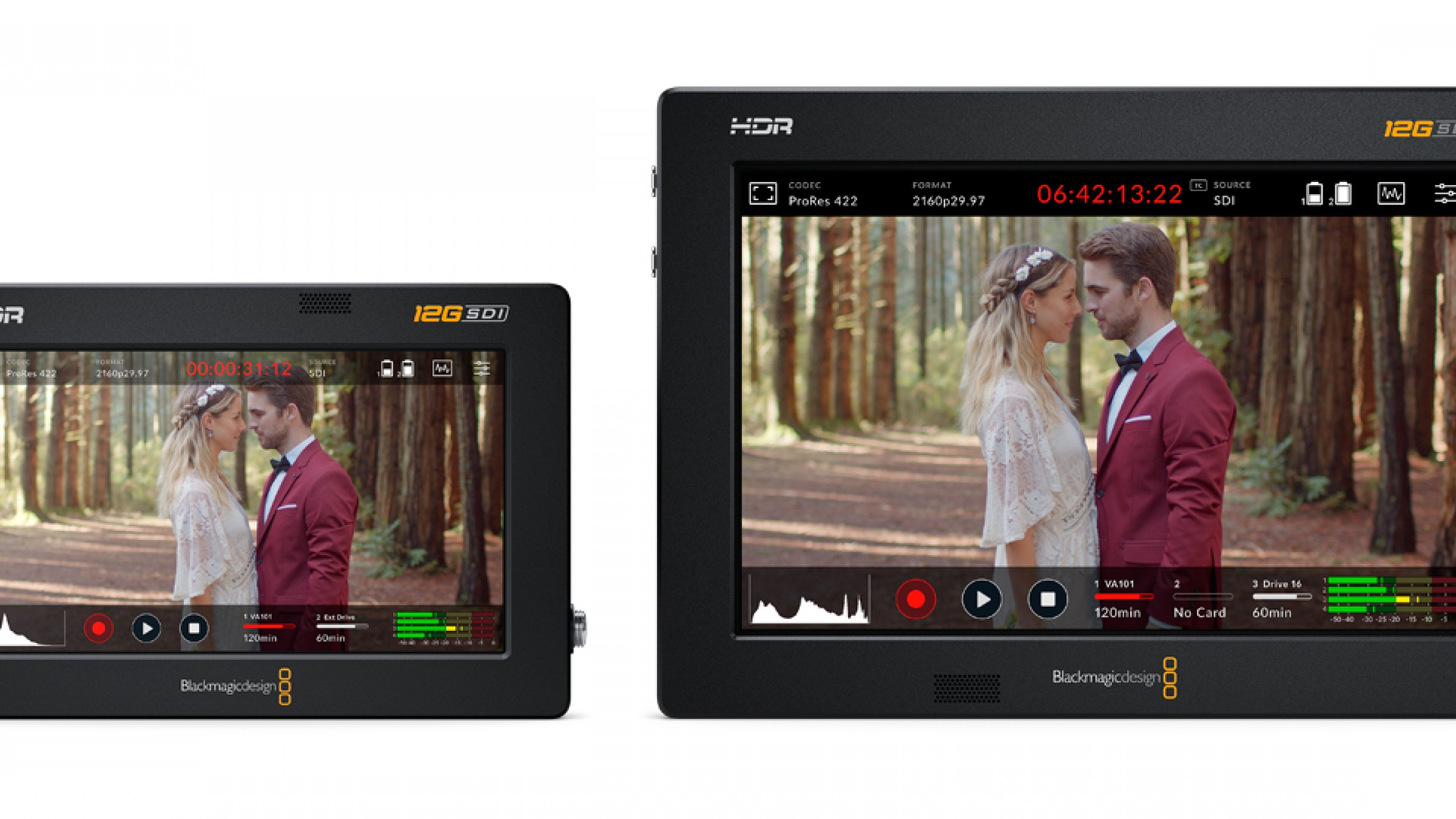 You Can Now Record Raw With Blackmagic Design Video Assist 12g Hdr Monitors