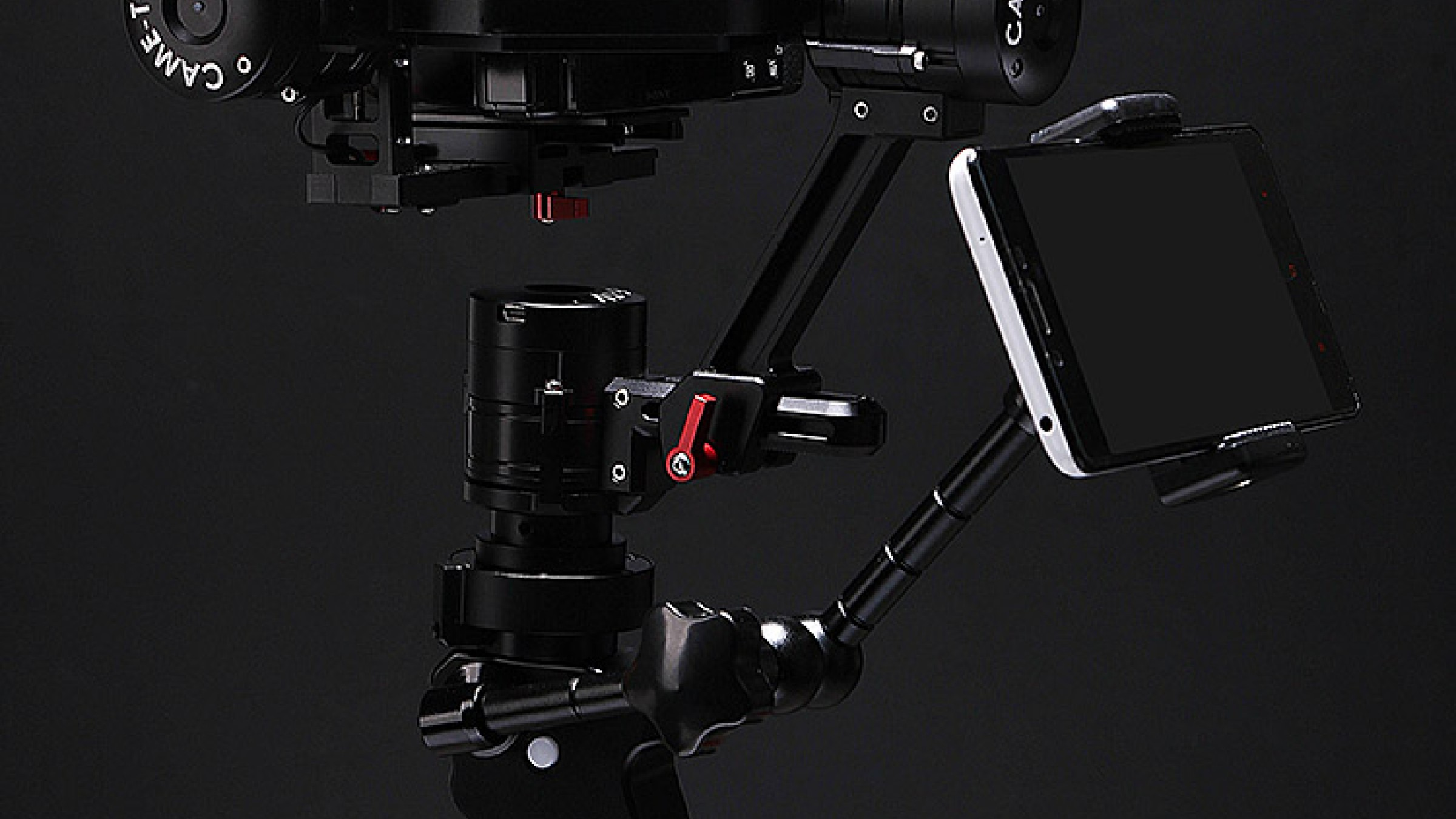 CAME-TV Releases Interesting New Gimbal for Easy One-Hand Operation