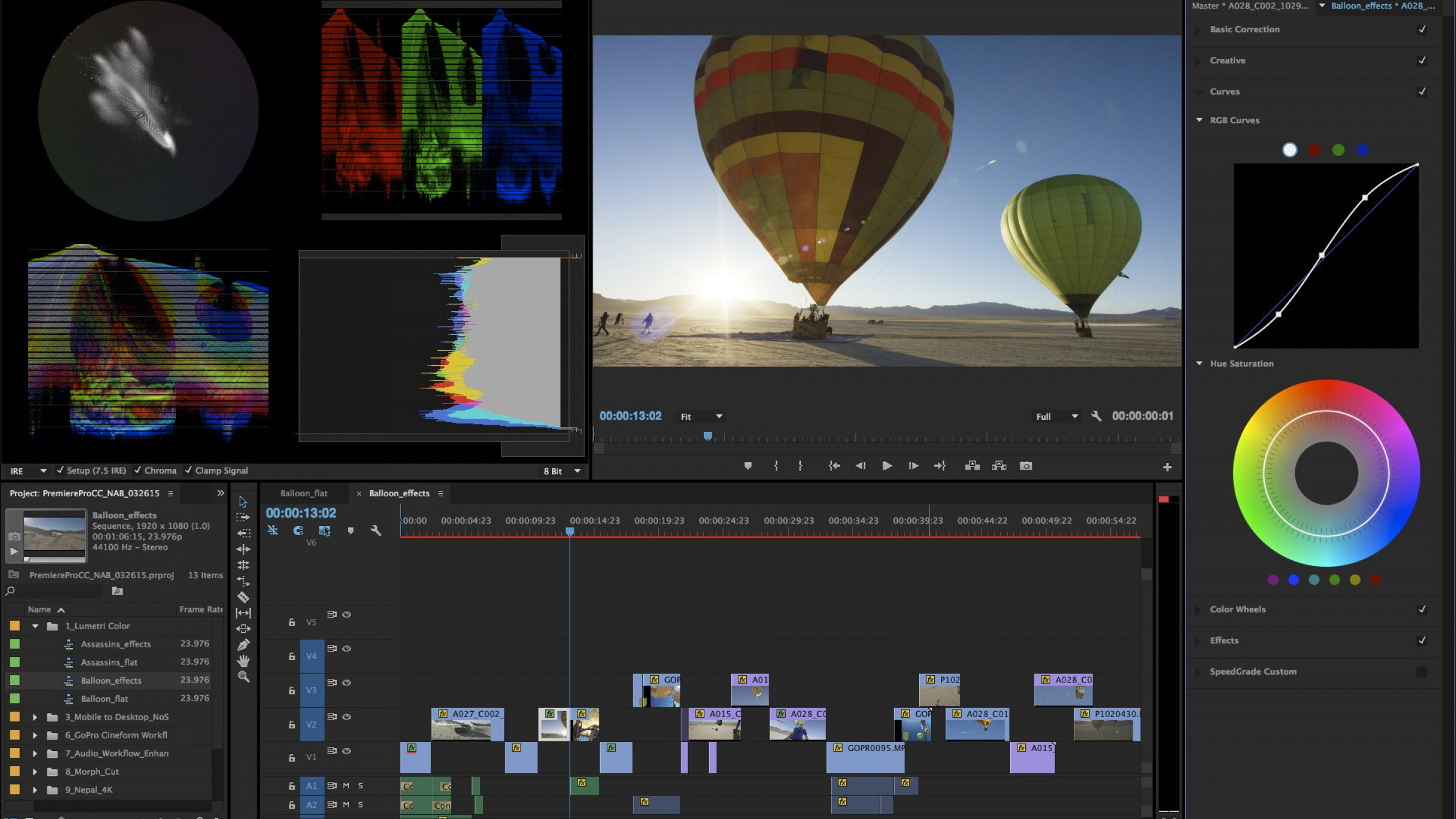 Color adobe online - Premiere Pro Just Got Some Massive Upgrades To Its Color Correction Abilities
