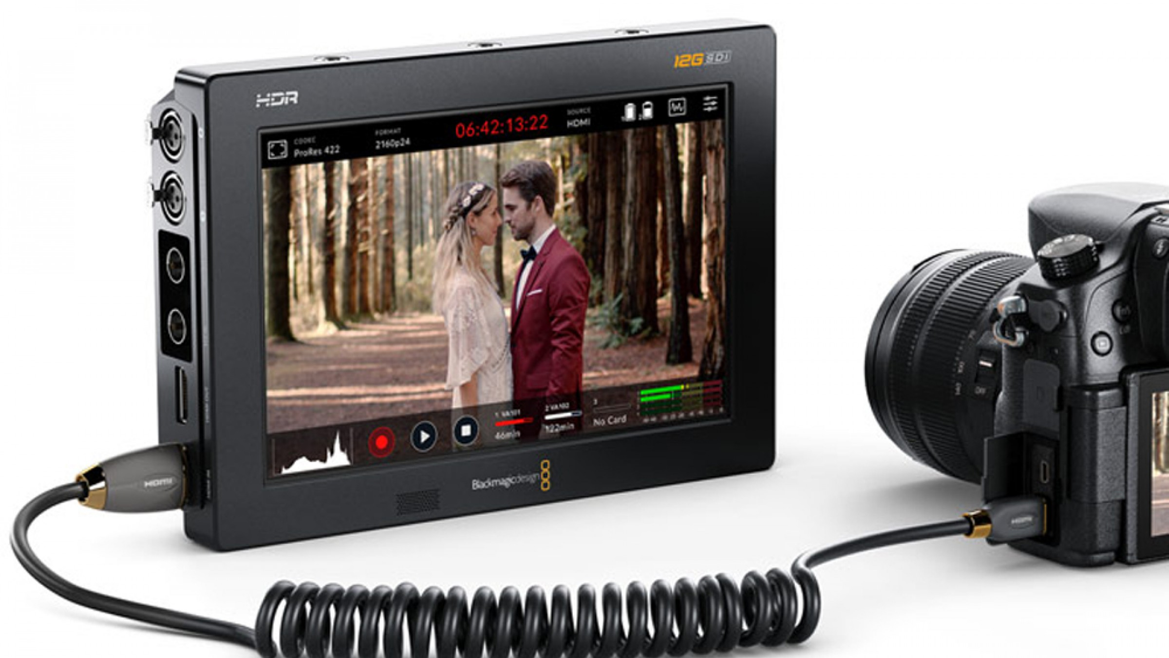 Blackmagic Improves Colorimetry in Video Assist 12G HDR Series with Firmware 3.03