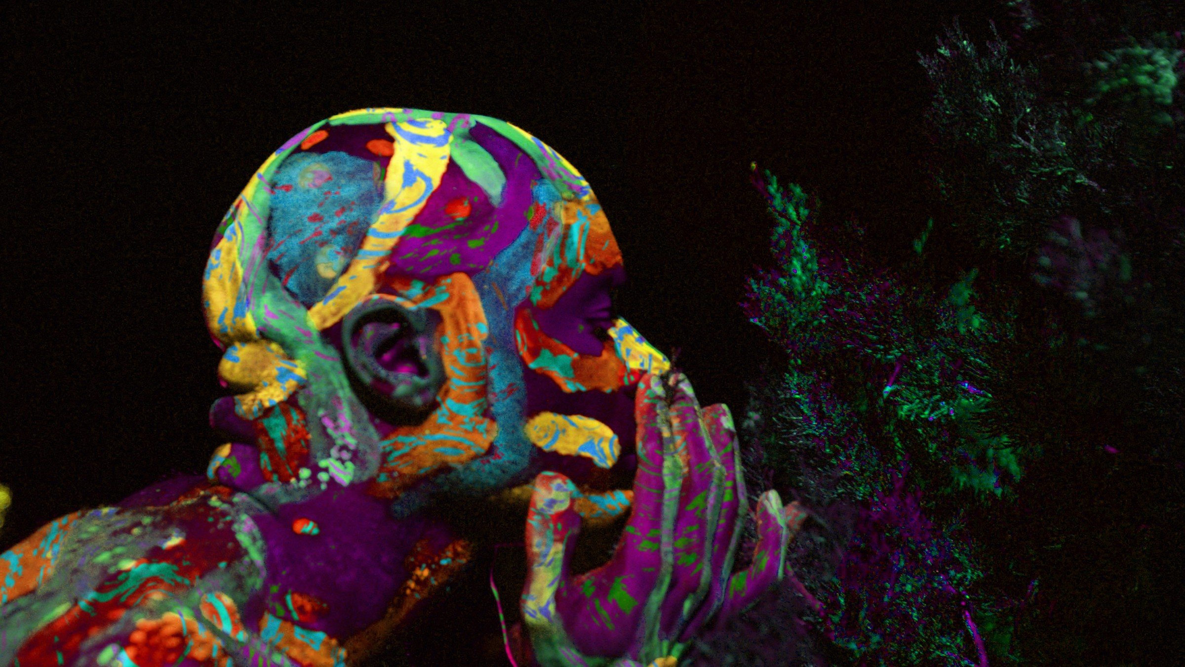 How We Painted Our Movie with Ultraviolet Color and 1,000-Watt-Equivalent LEDs
