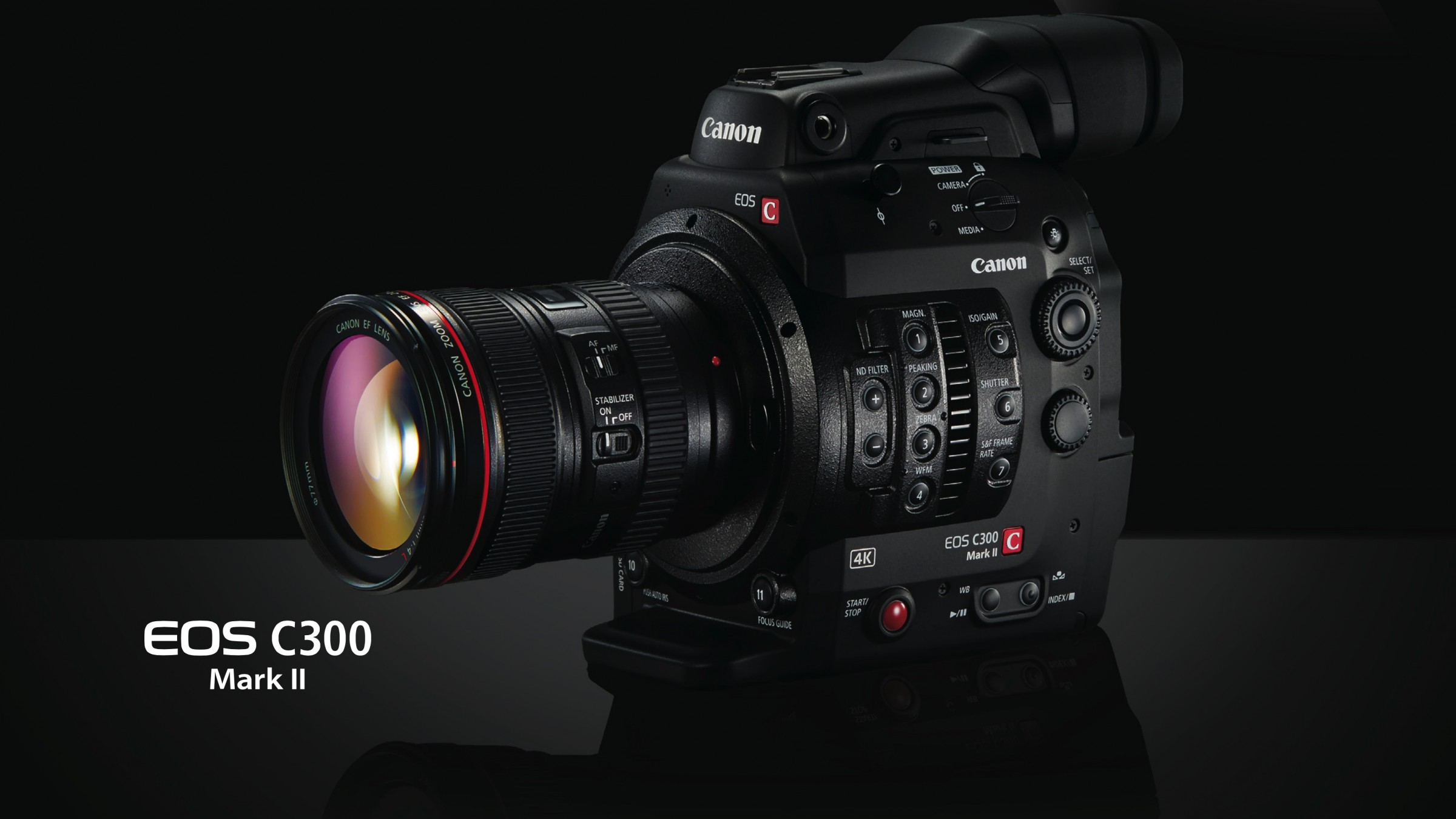 Get to Know Canon's New 4K Powerhouse, the C300 Mark II