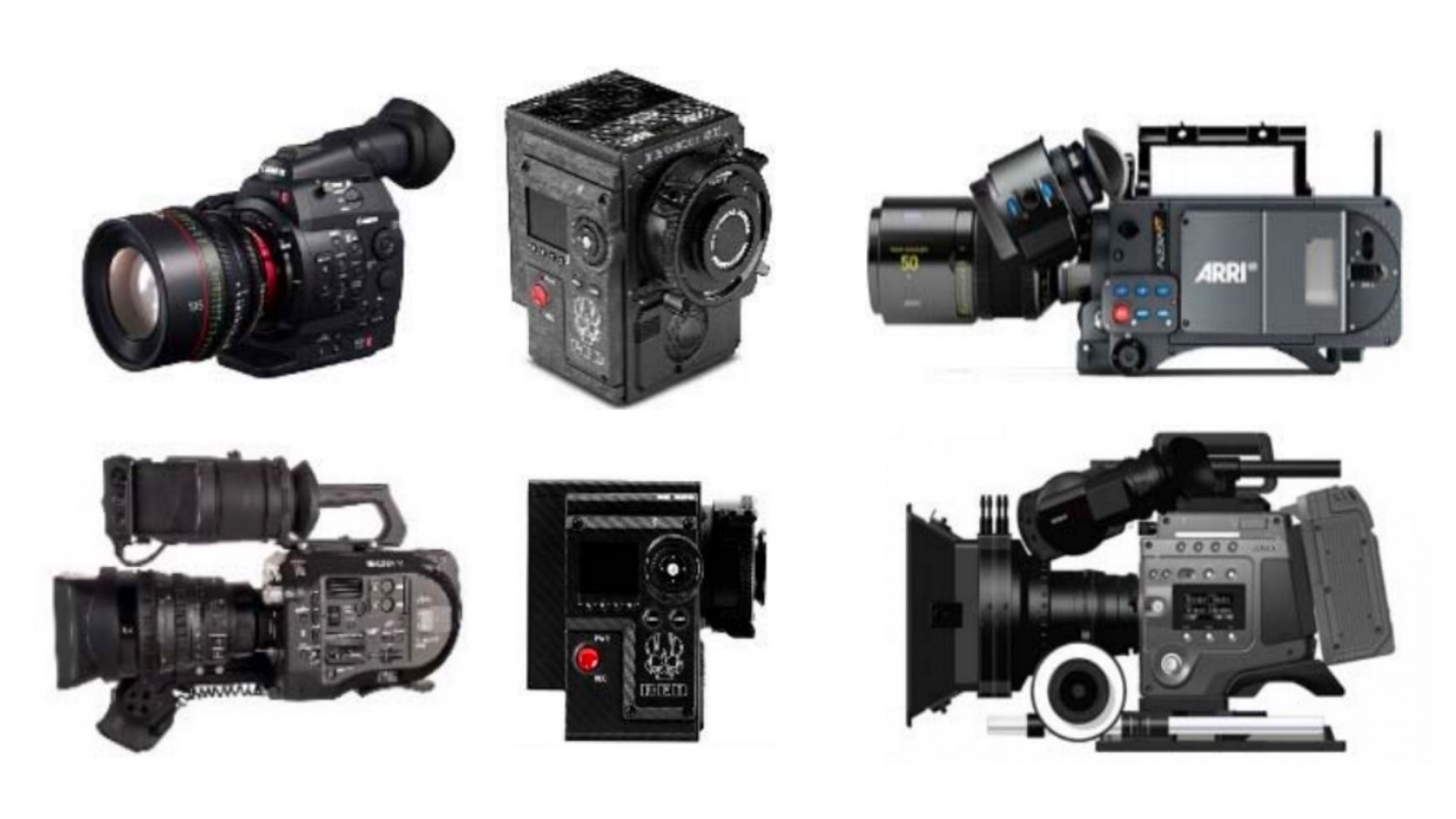 This Camera Comparison Chart Summarizes All of Your Camera Choices