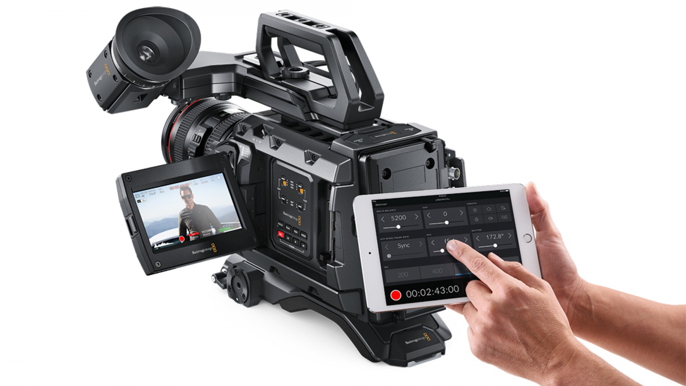 Blackmagic Design Releases Camera Control App for URSA Mini Pro