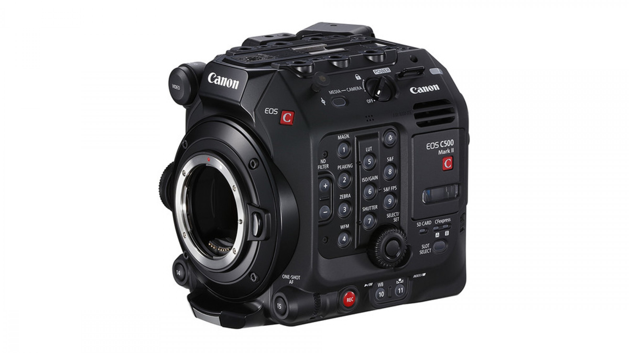 Canon EOS C500 Mark II Firmware Update V1.0.1.1 Addresses Minor Fixes