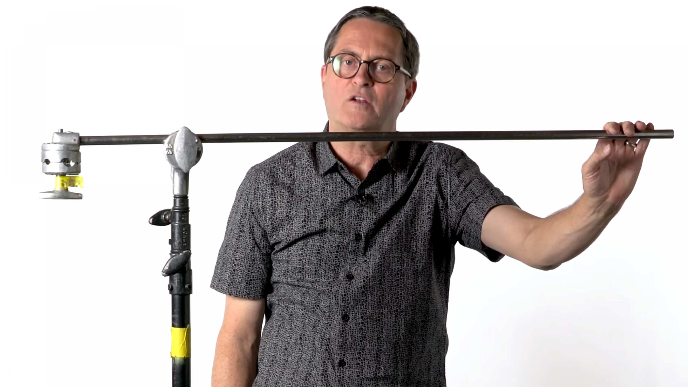 Watch: How to Maximize the Usable Distance of Your C-Stand