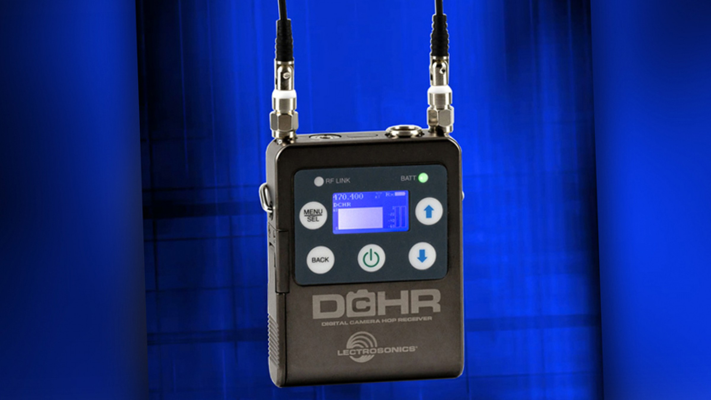 The Lectrosonics DCHR Receiver Let's You Record Wireless Stereo Audio