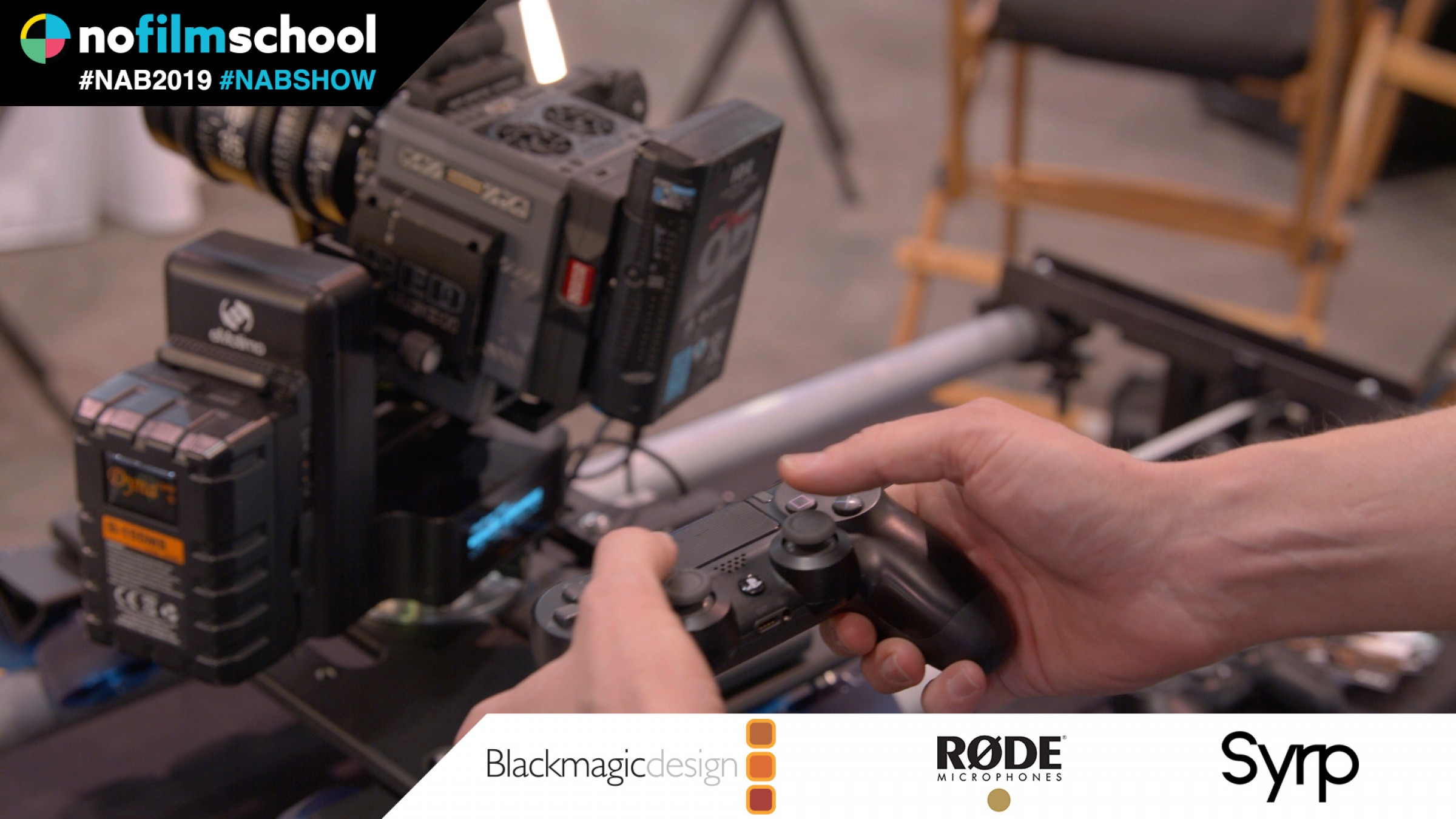 Dana Dolly Lite & eMotimo Motion Control (Programmable with a PlayStation Controller)
