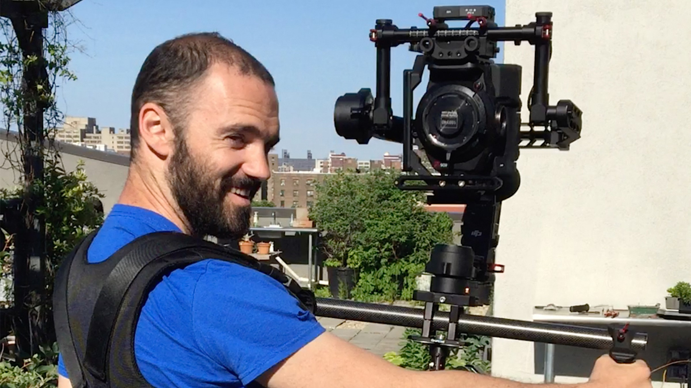 How to Film Over Your Shoulder for Hours With a DJI Ronin Gimbal