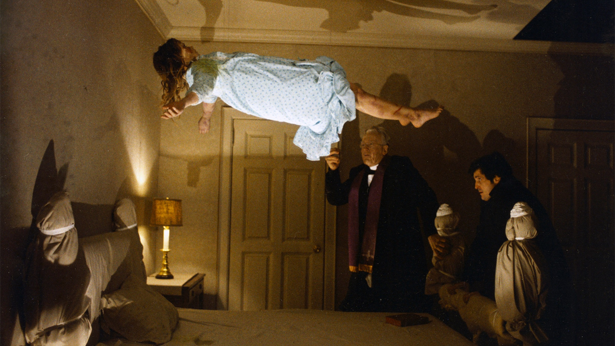 the spirit of possession as described in william blattys 1973 book the exorcist