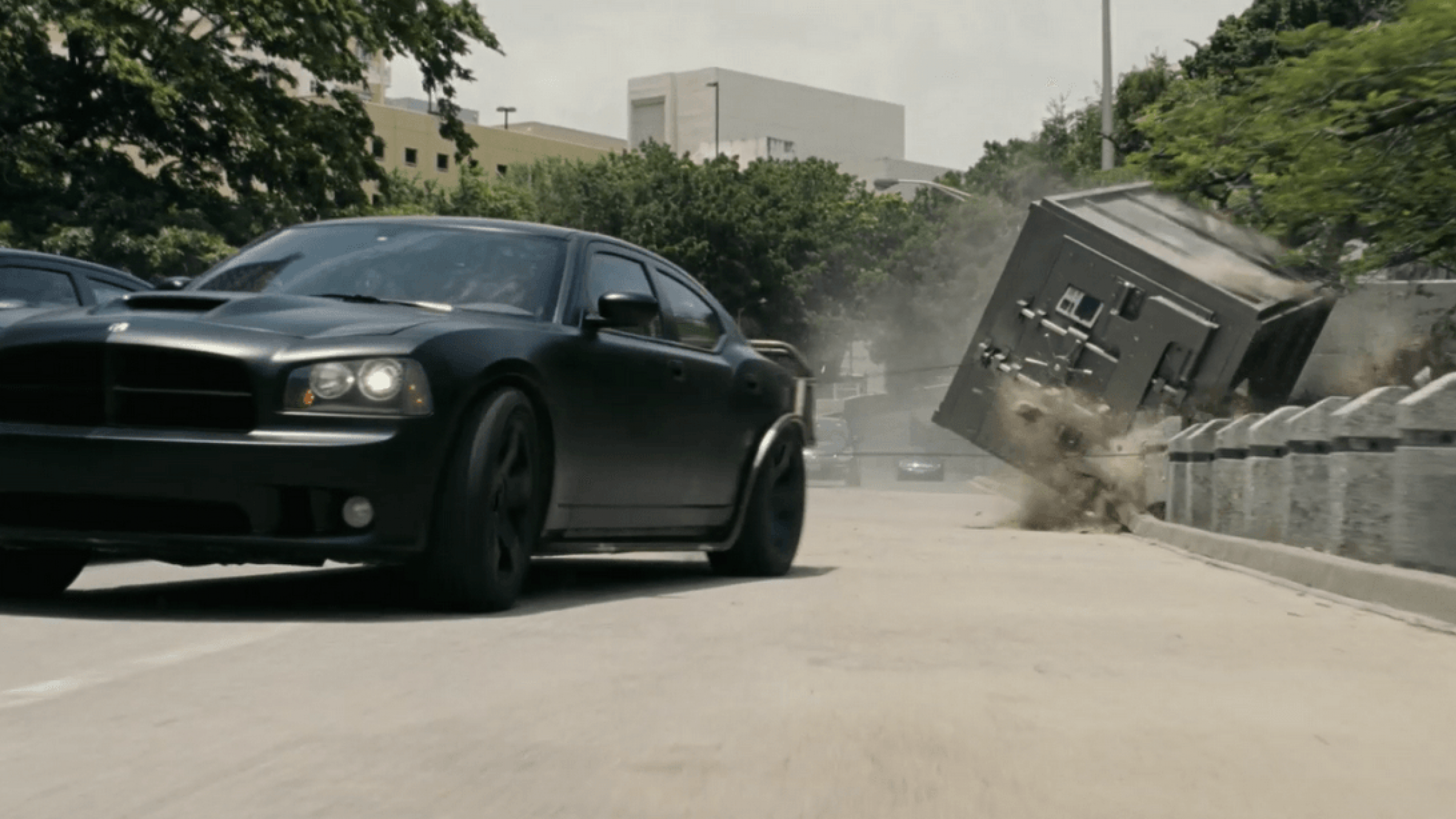 How 'Fast Five' Towed a 9000 Lb. Steel Vault to Create Real Carnage