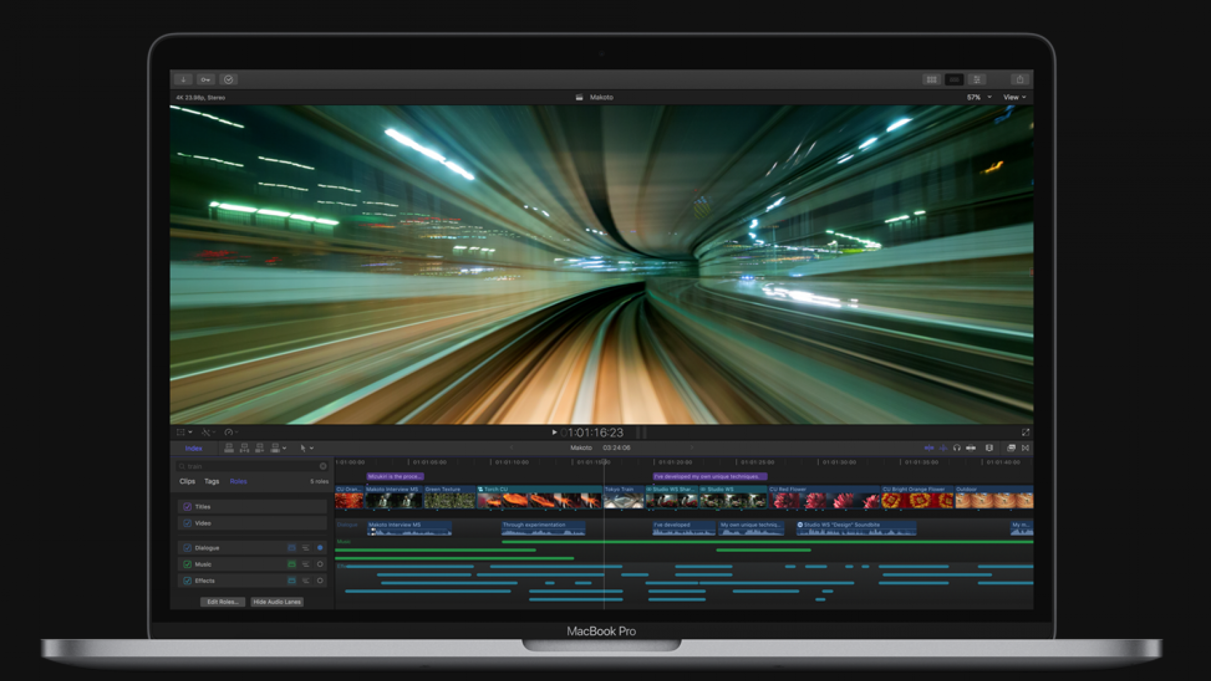Final Cut Pro X Gets Full Redesign for 10 3