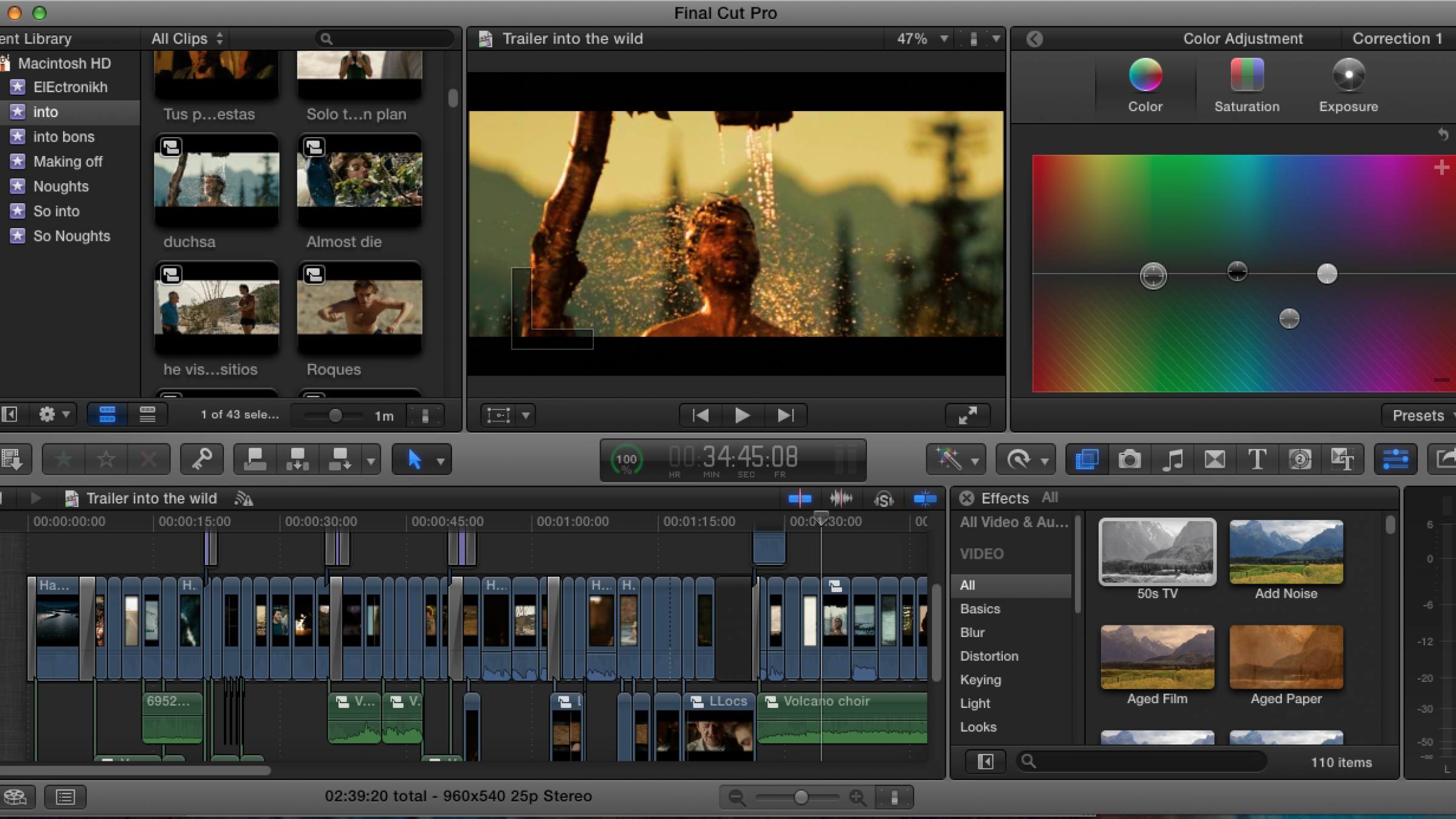 6 Effects Final Cut Pro X Users Can Use in Their Daily Workflow