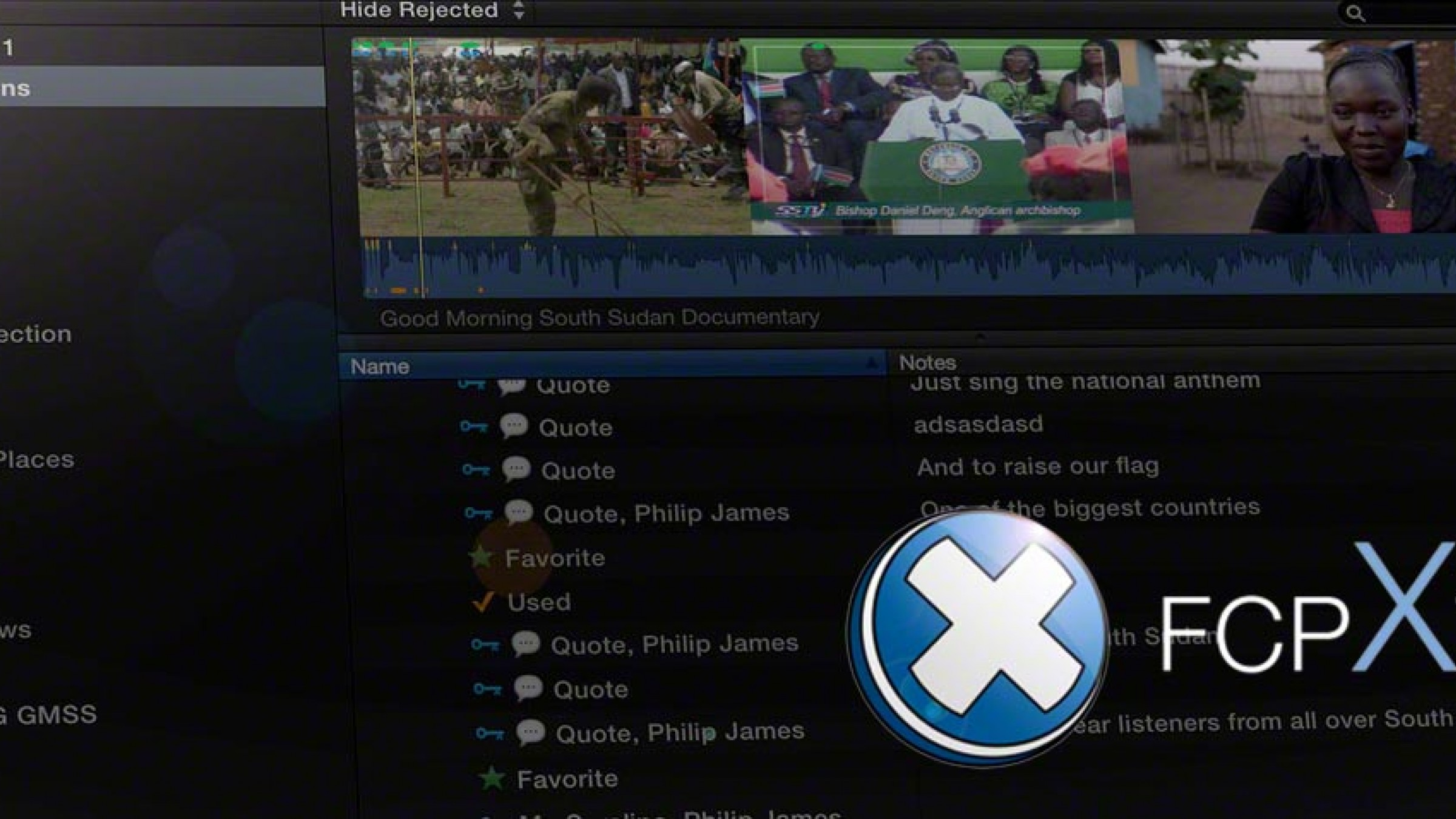 An FCPX Plugin that Makes Adding Metadata to Your Clips As