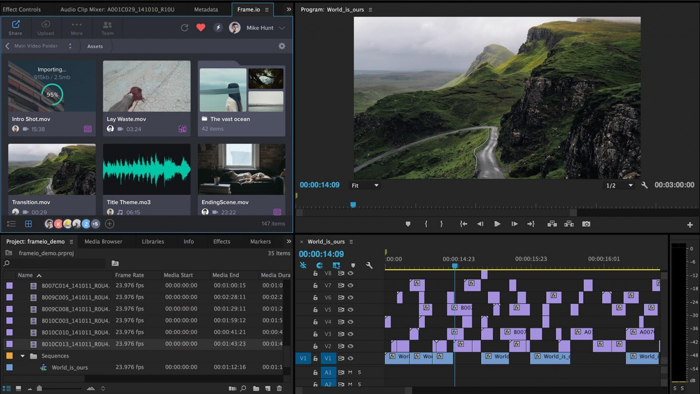 Frame io Adobe Premiere Pro Integration Lets You Collaborate On Your
