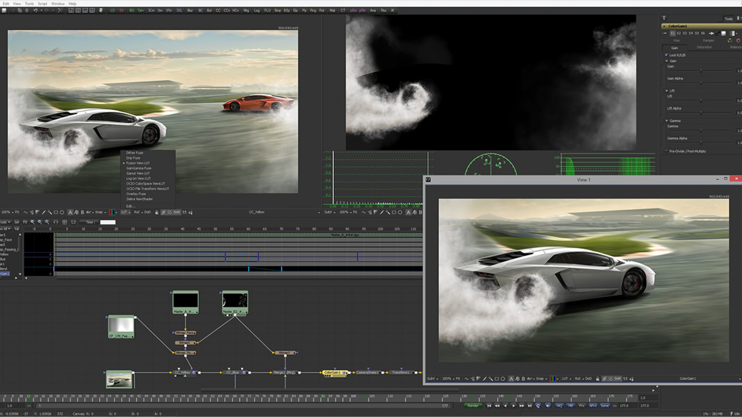 Professional Node-Based Compositing & 3D Animation Software Is Now