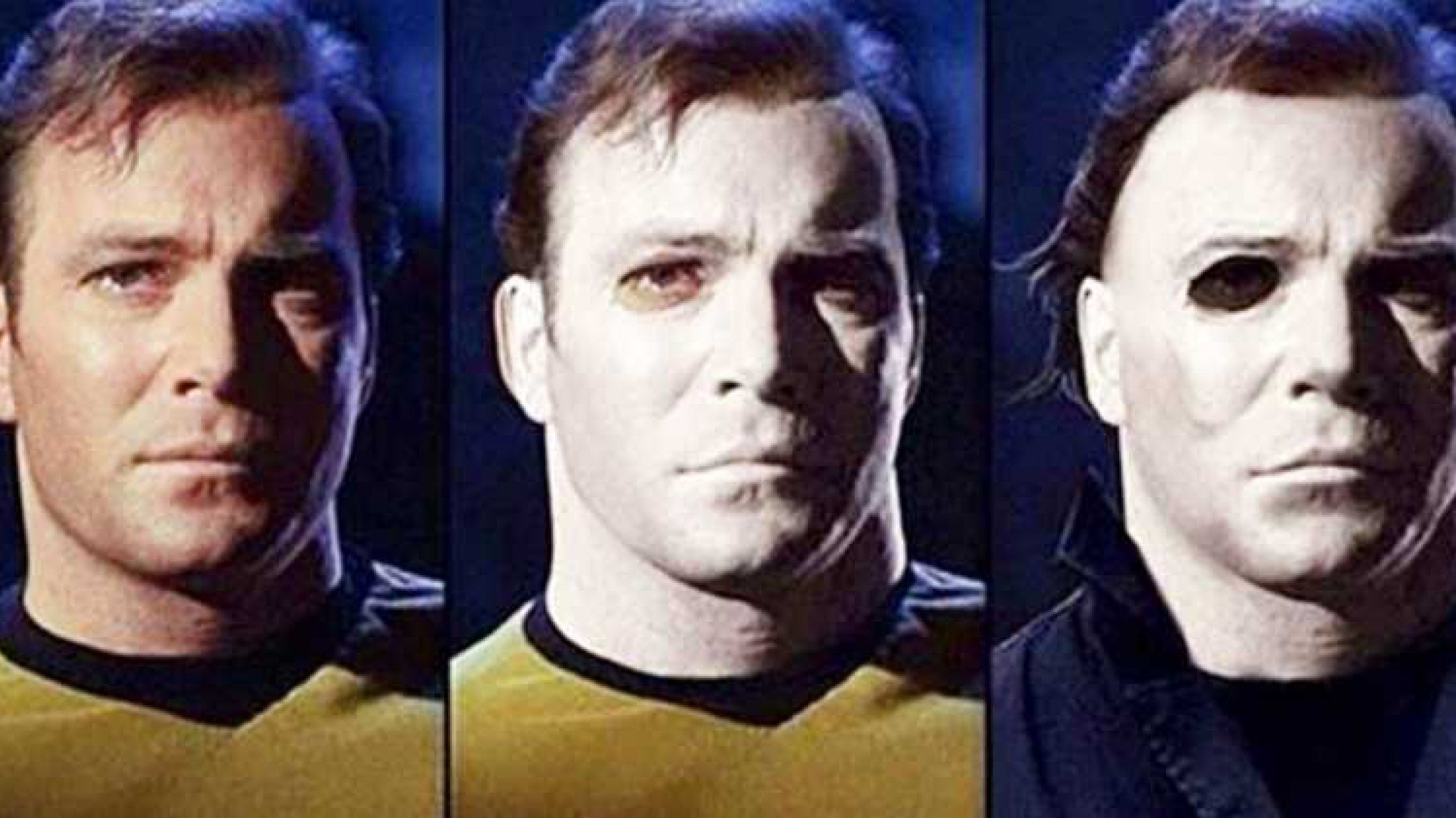 Is The Michael Myers Mask William Shatner