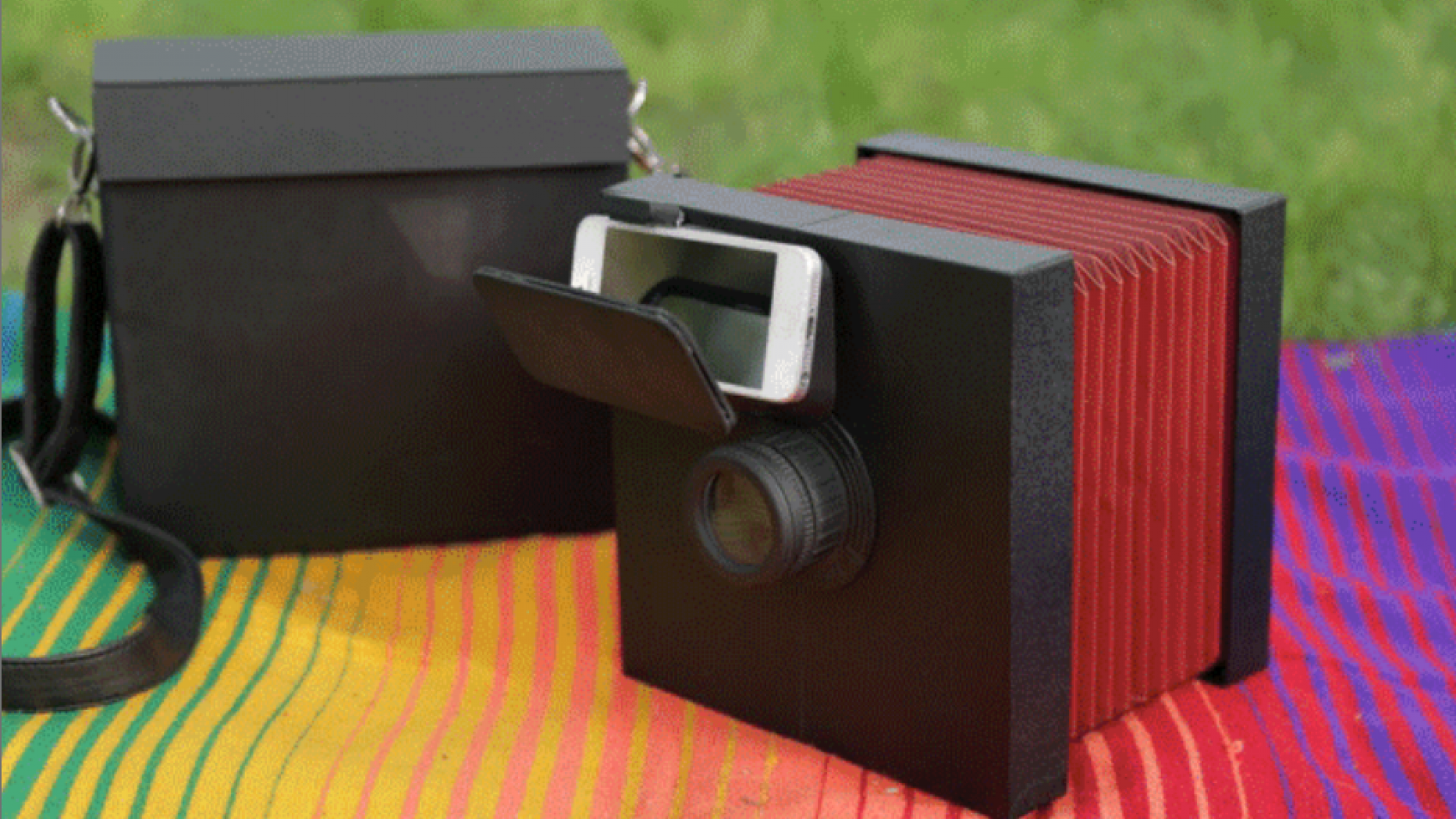 How to make a small camera obscura with your own hands