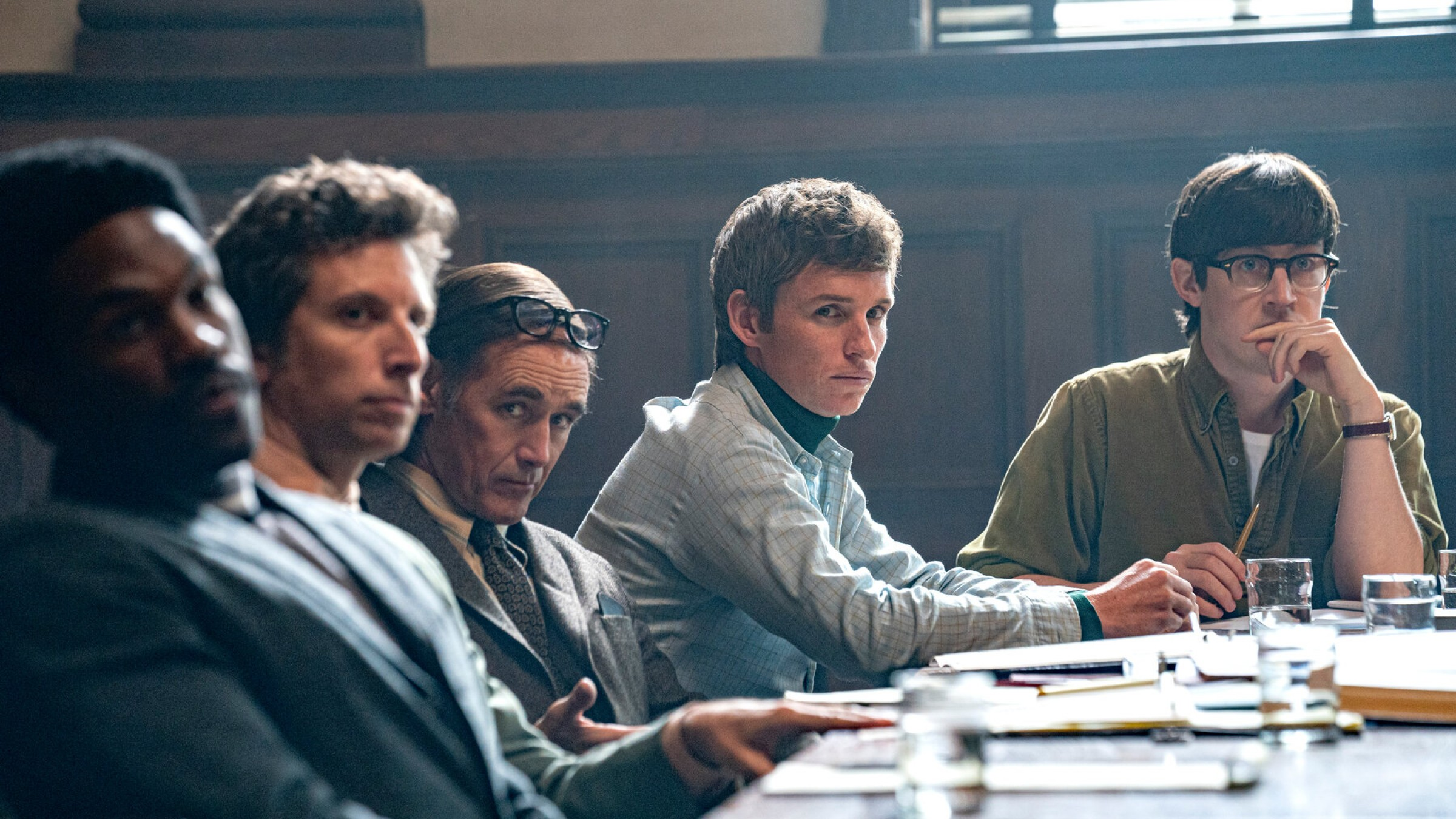 How DP Phedon Papamichael Kept the Courtroom Interesting in Sorkin's 'The Trial of the Chicago 7'