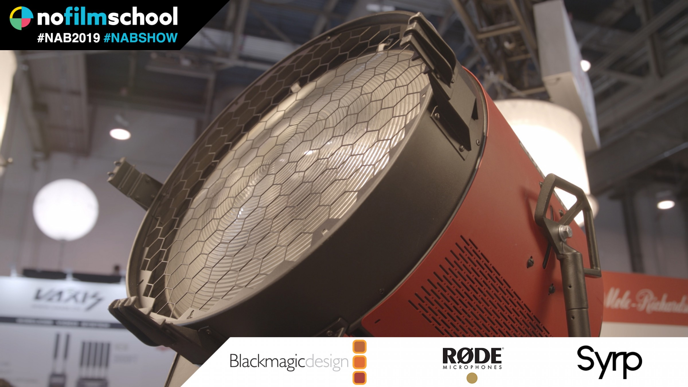 "Meet the ""Largest LED at NAB"" with Mole-Richardson's 20k LED"