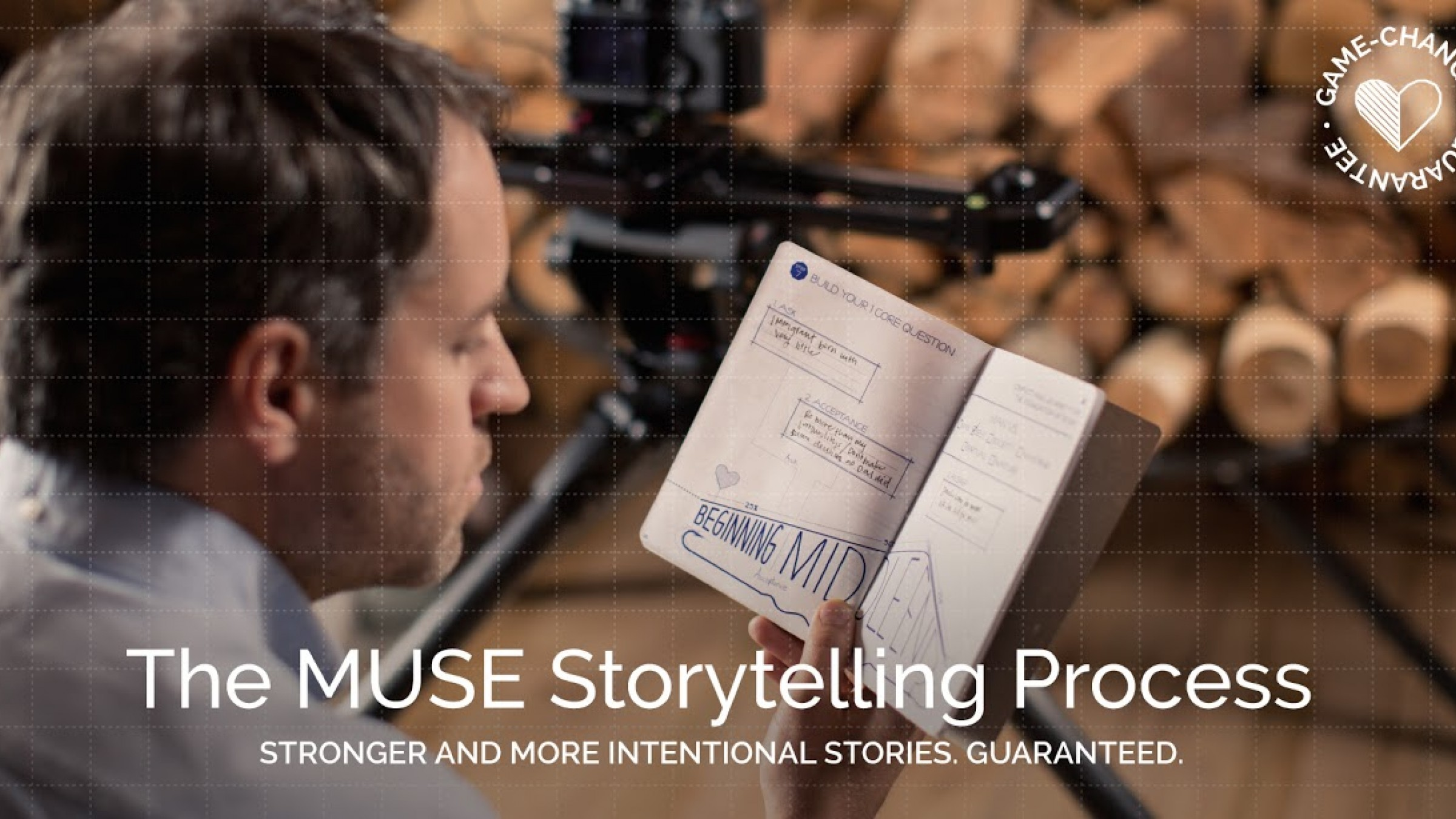 MUSE Is a Proven Step-by-Step Process For Crafting Powerful Stories From Scratch
