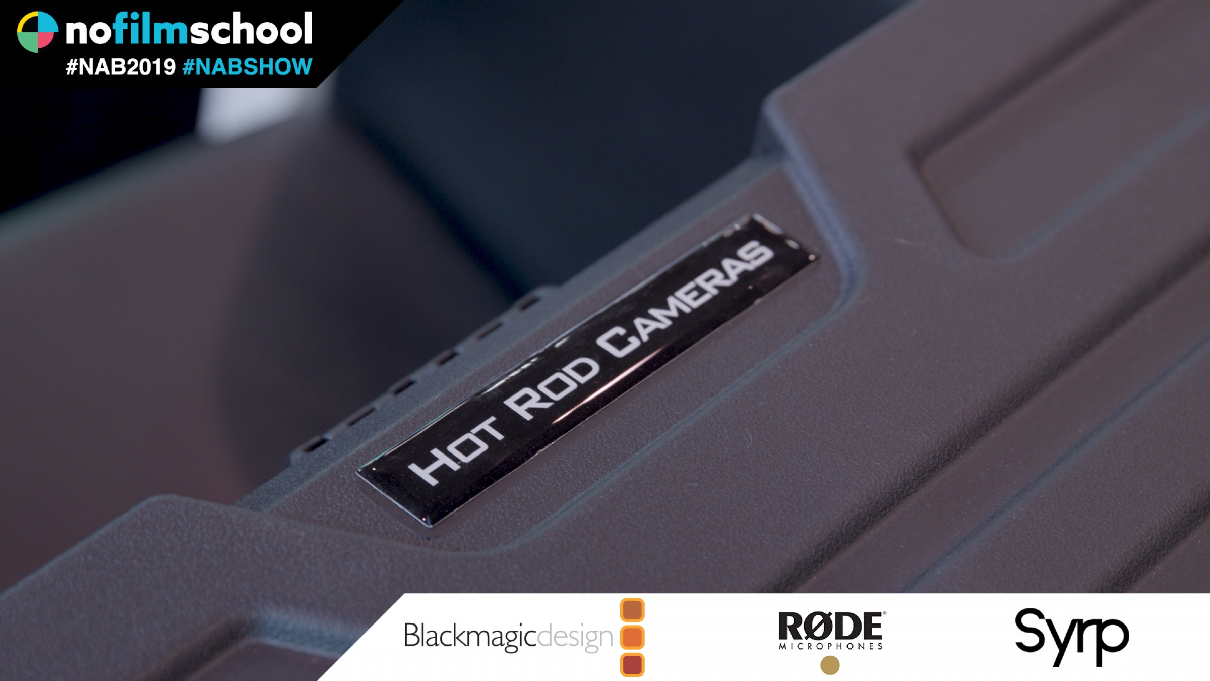Hot Rod Cameras Carrying Case & Tube Clips For Quasars & Fluorescent Tubes