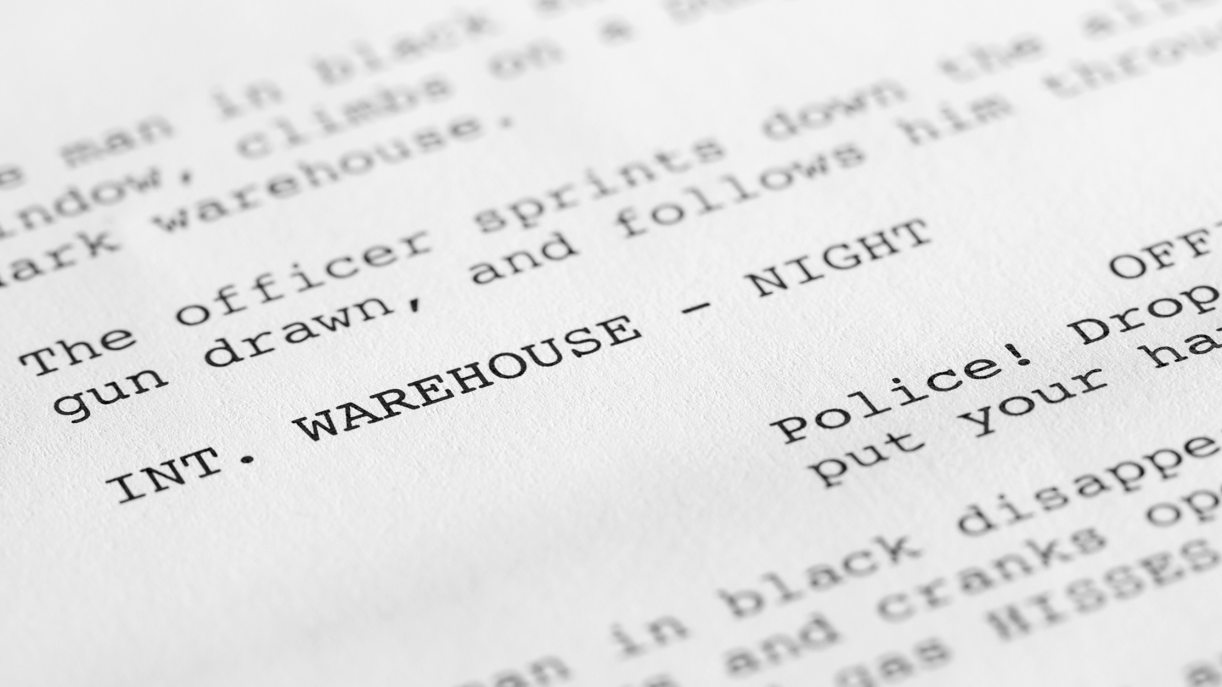 Understanding the Formatting of a Screenplay (and Why It All Matters)
