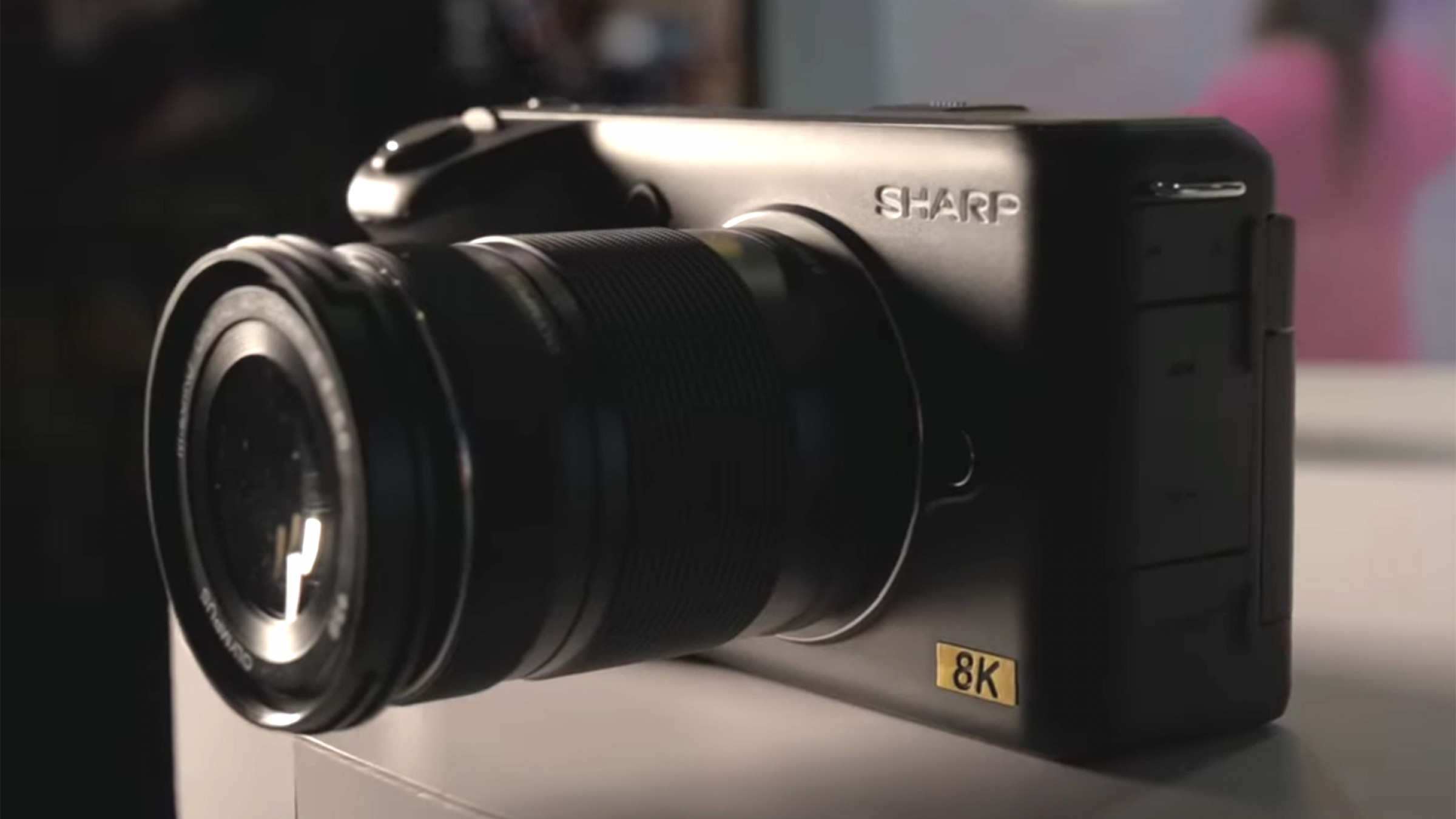The Sharp 8K: Introducing the First 8K Prosumer Video Camera